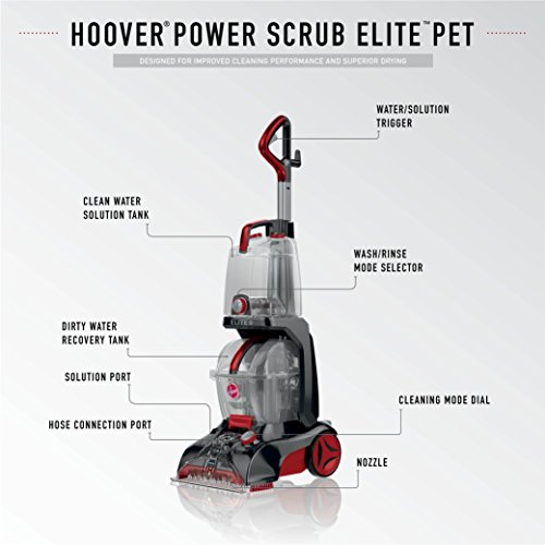 Hoover FH50251PC Review - Key Feature of the Hoover FH50251PC Power Scrub Elite