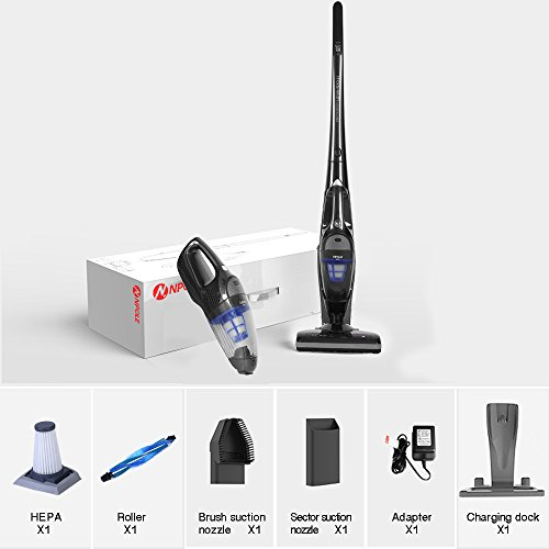 NPOLE 2-in-1 Cordless Upright Vacuum Cleaner Review
