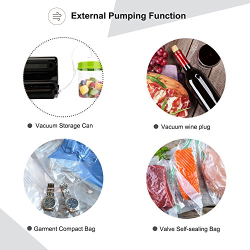 Key Features of the Mooka 4-in-1 Vacuum Sealer