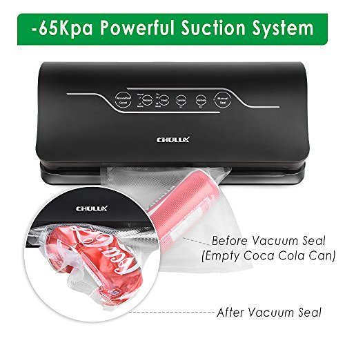 How better than any top rated Vacuum Sealer?