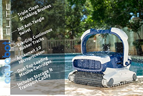 Key features of the Aquabot Elite Inground Robotic Pool Cleaner
