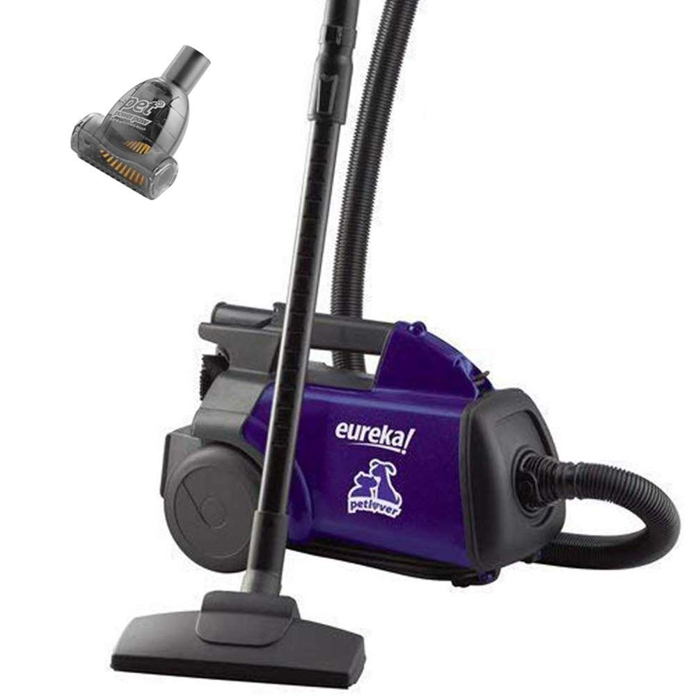 Eureka Mighty Mite Bagged Canister Vacuum Cleaner, Pet, Violet