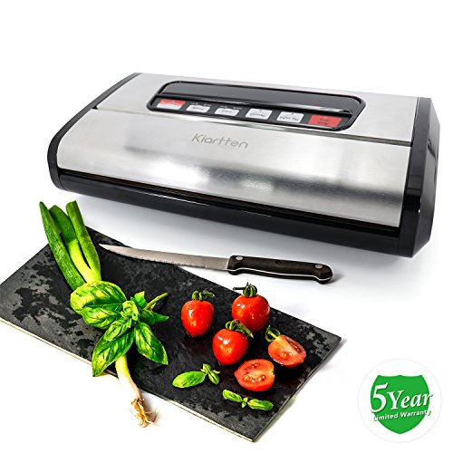 Kiartten Vacuum Sealer review - What users are saying about Kiartten Vacuum Sealer
