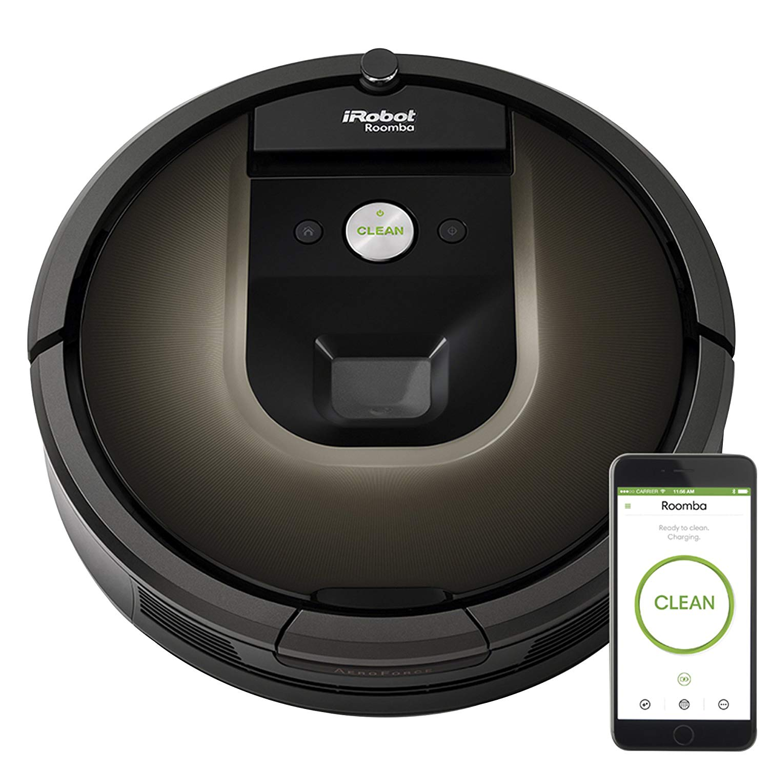 The iRobot Roomba 980 new